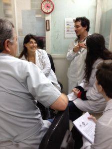 De frente: Natalia MENITE y Pablo SCHIERLOH, con Jorge RAMIREZ y María Ailén NATALE