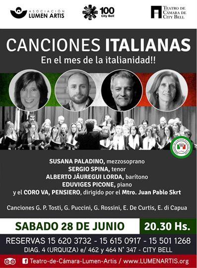 CANCIONES ITALIANAs 2