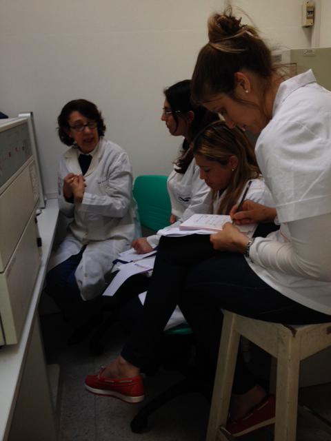 Dra Nora Galassi en el Práctico del Primer Turno 2015