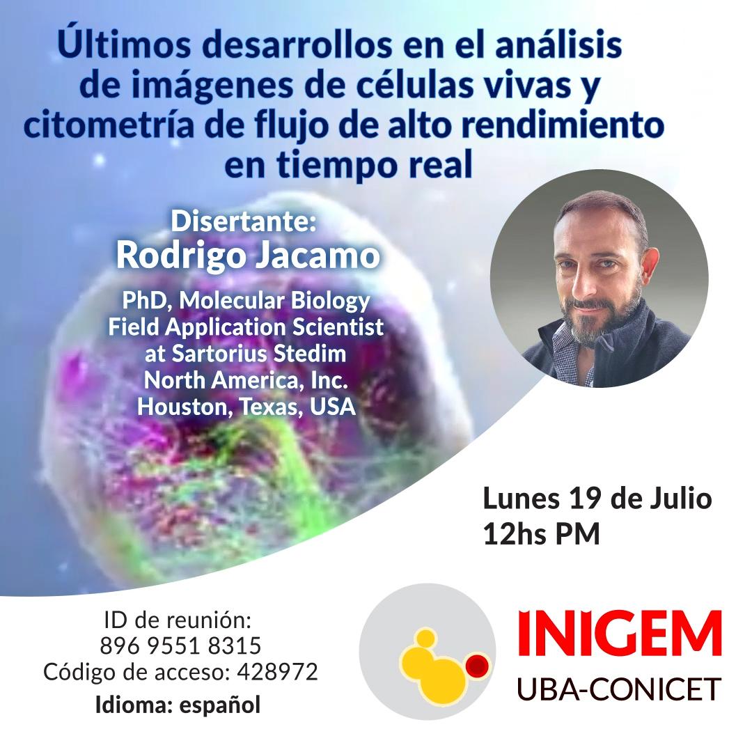 Rodrigo Jacamo - 19 de Julio